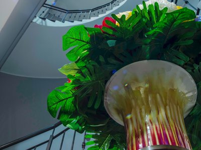 EA Hotel Sonata**** - decoration at the staircase